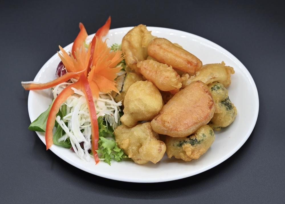 10. Vegetable Tempura (Pak Chuub Pang Thod) (V)