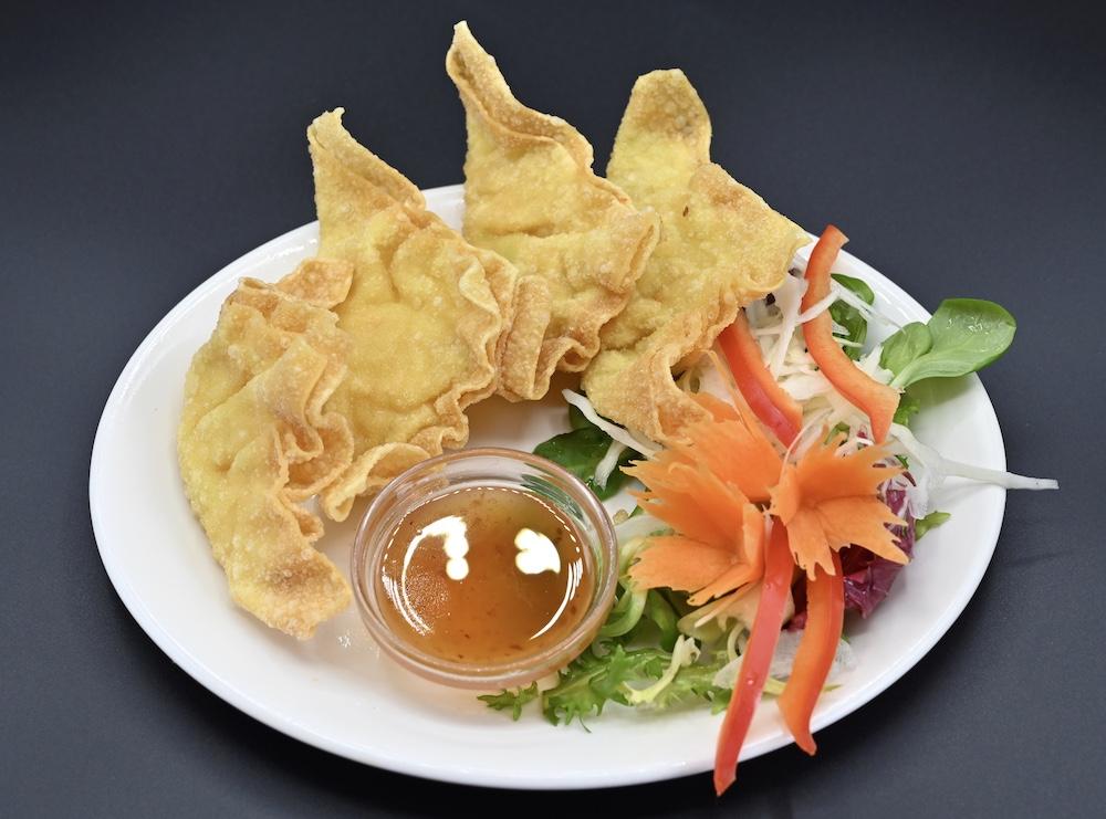 12. Thai Dumpling (Keeaw Thod Krob)