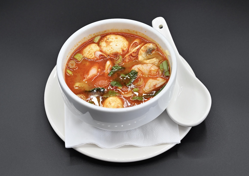 19.  Hot and Sour Soup (Tom Yum) 🌶️ 🌶️