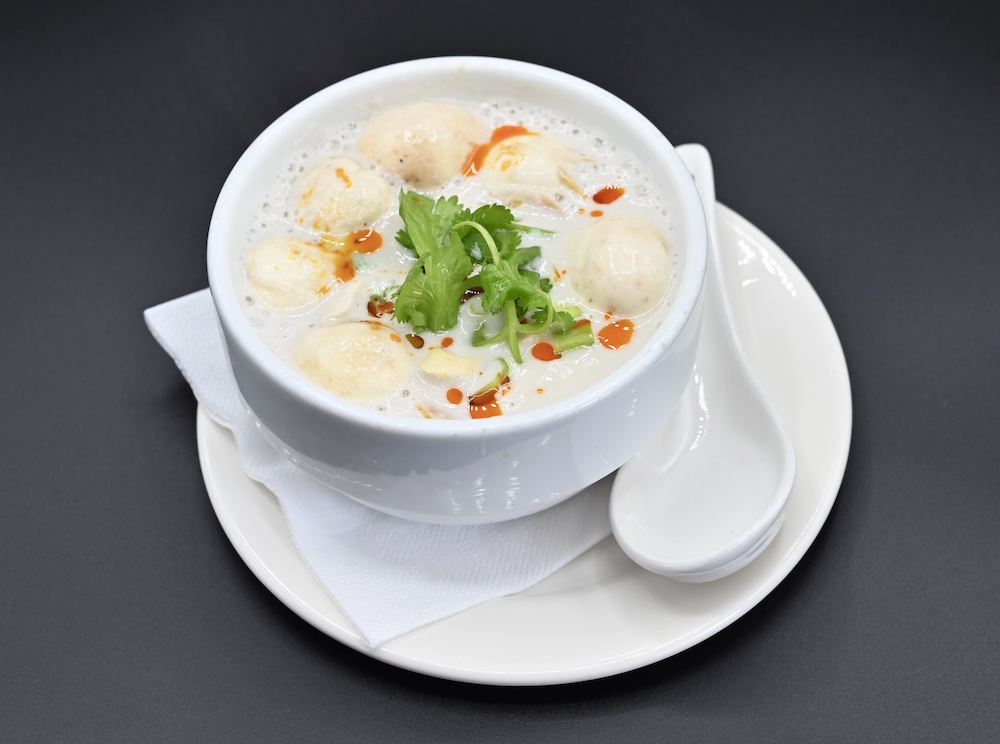 20. Coconut Cream Soup (Tom Kha)