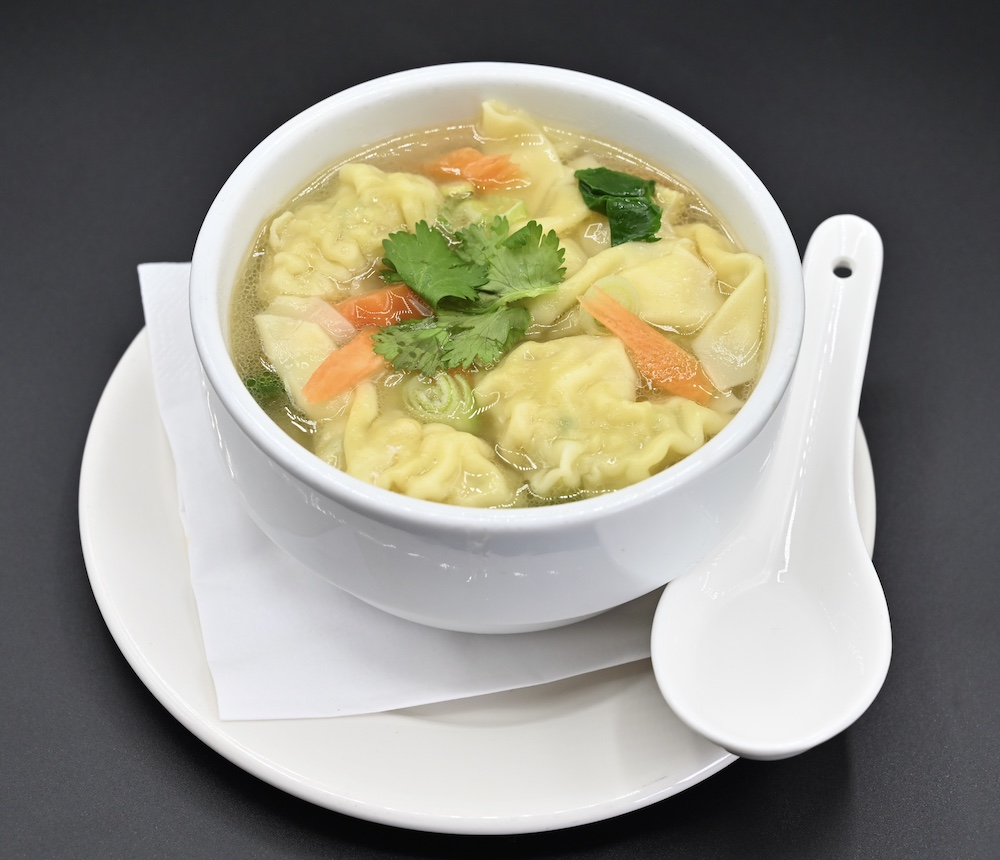 21. Won Ton Soup (Keaw Hnam)