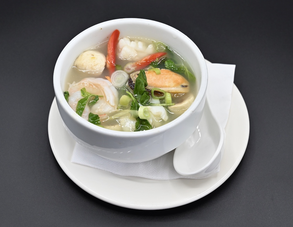 22. Spicy Seafood Soup (Poh Tak) 🌶️