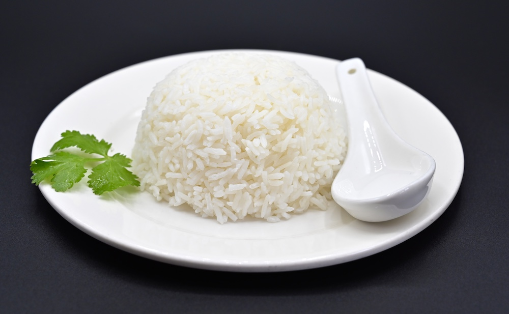 55. Kao Suay – Steamed Thai Fragrant Jasmine Rice
