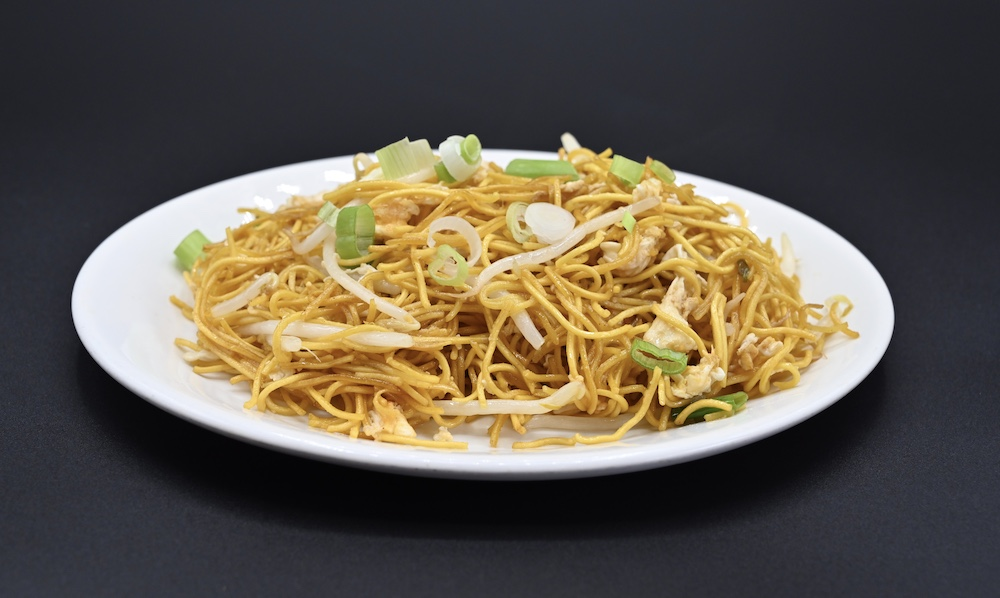 59. Stir fried Yellow Egg Noodles with Bean Sprouts