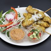 6 Chicken Satay