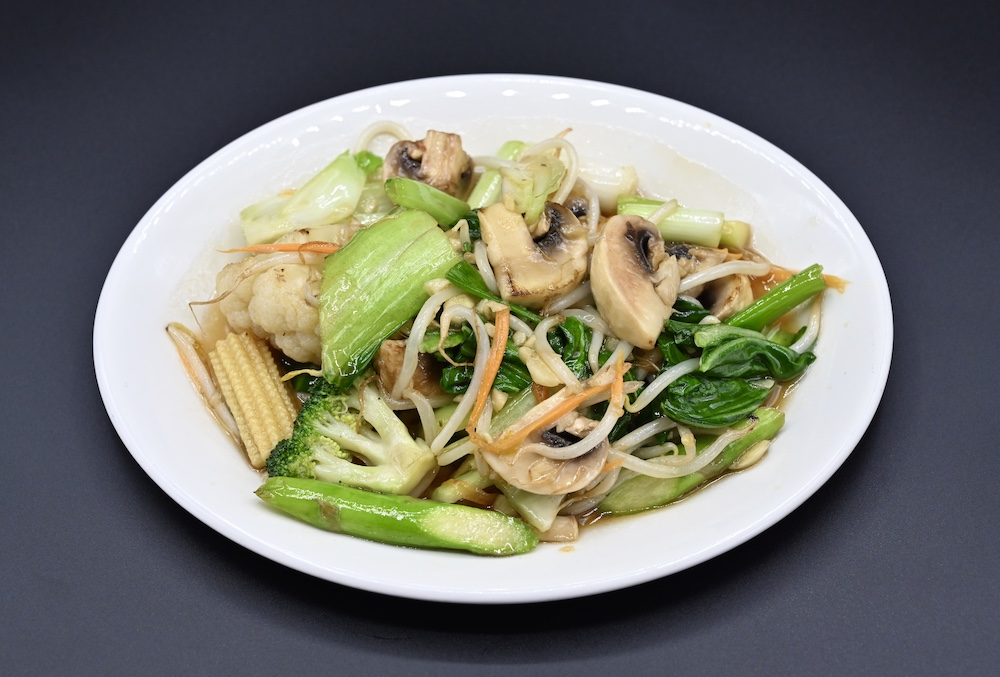 60. Stir Fried Mixed Vegetables with Soy sauce