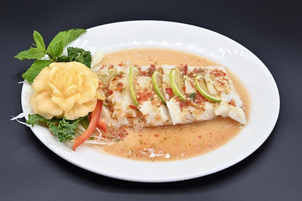 CS1. Steamed Cod Fish 🌶️